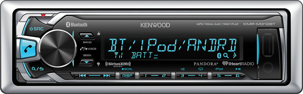 x113M312BT F kenwood kmr m312bt marine digital media receiver (does not play kenwood kmr m315bt wiring diagrams at bakdesigns.co