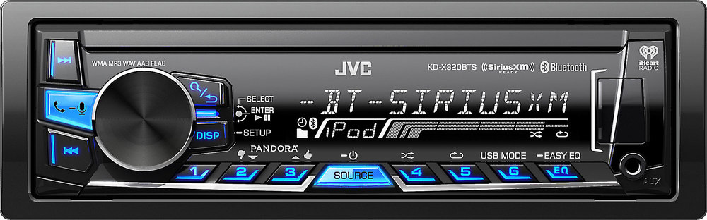 JVC KD-X320BTS Receiver Bluetooth Drivers (2019)