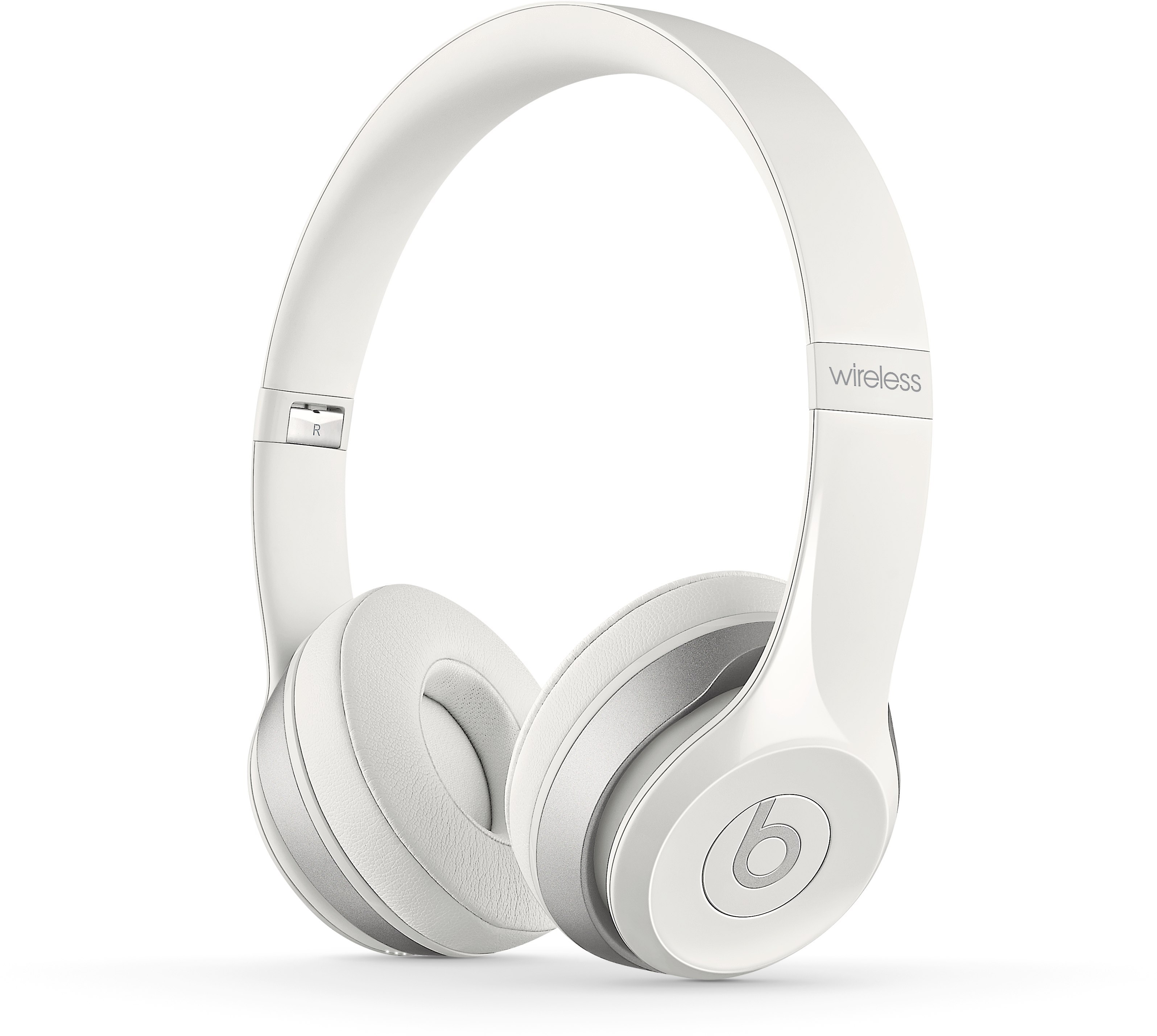 Beats by Dr. Dre® Solo2 Wireless (White) On-ear Headphone with Bluetooth®  at Crutchfield