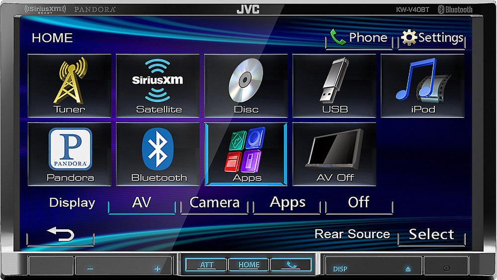 x105KWV40B F jvc kw v40bt dvd receiver at crutchfield com jvc kw v20bt wiring diagram at soozxer.org