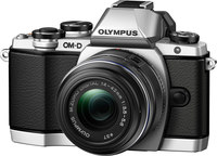 Olympus E-M10 w/ 14-42mm Lens- Silver,  16MP, EVF, 8 fps,...