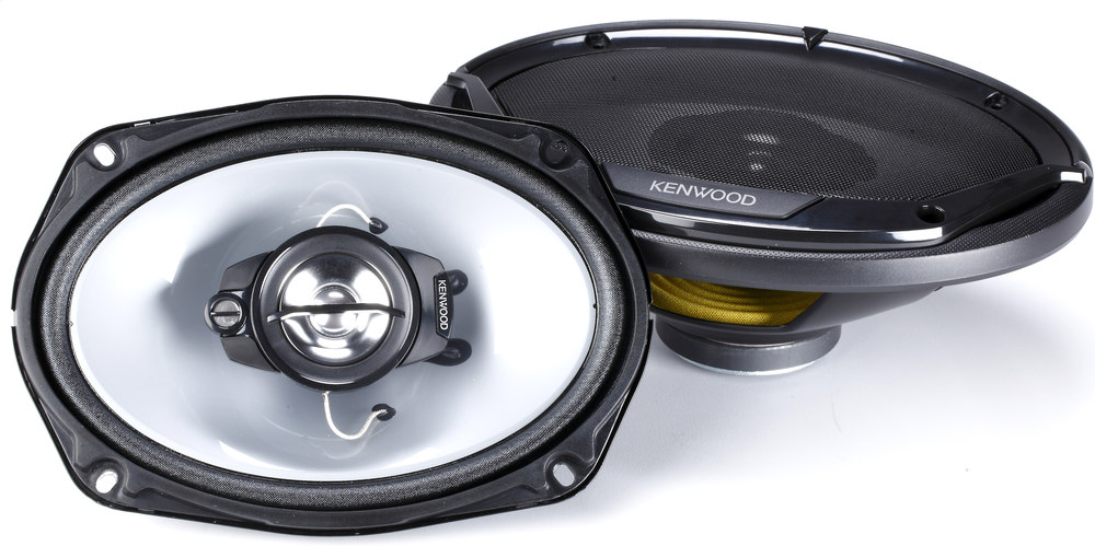 "Kenwood Kfc-6965S 6""X9"" 3-Way Car Speakers At Crutchfield.Com"