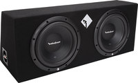 "Rockford Fosgate R1-2X10  Dual 10"" sealed enclosure"