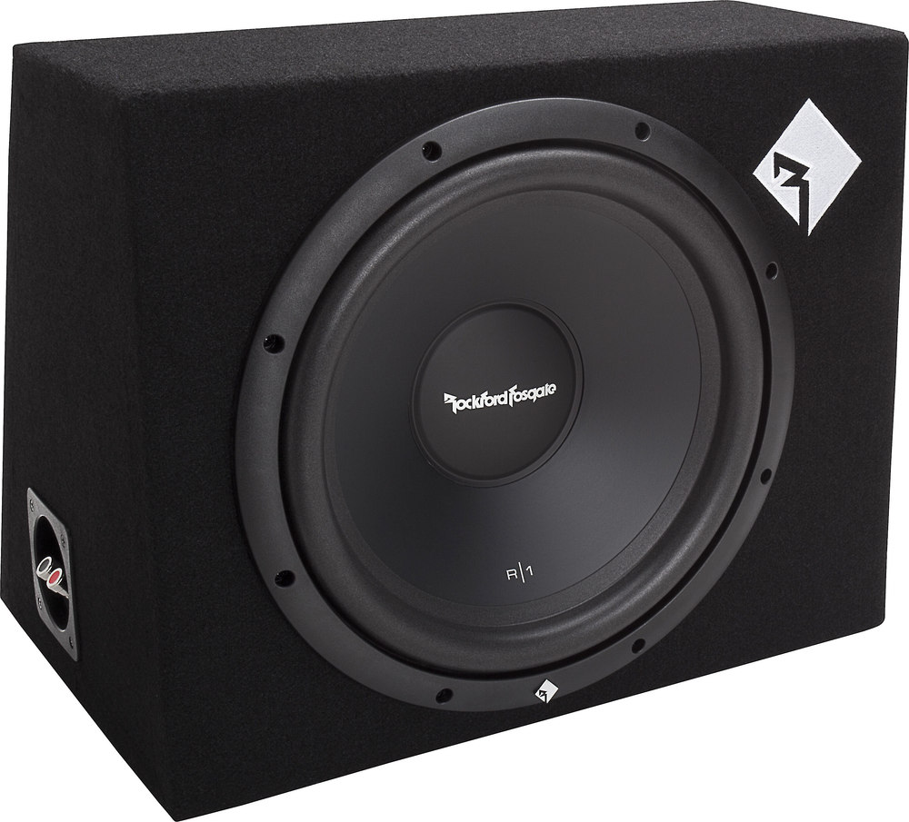 Rockford Fosgate Prime R1-1X12 Sealed Enclosure With One