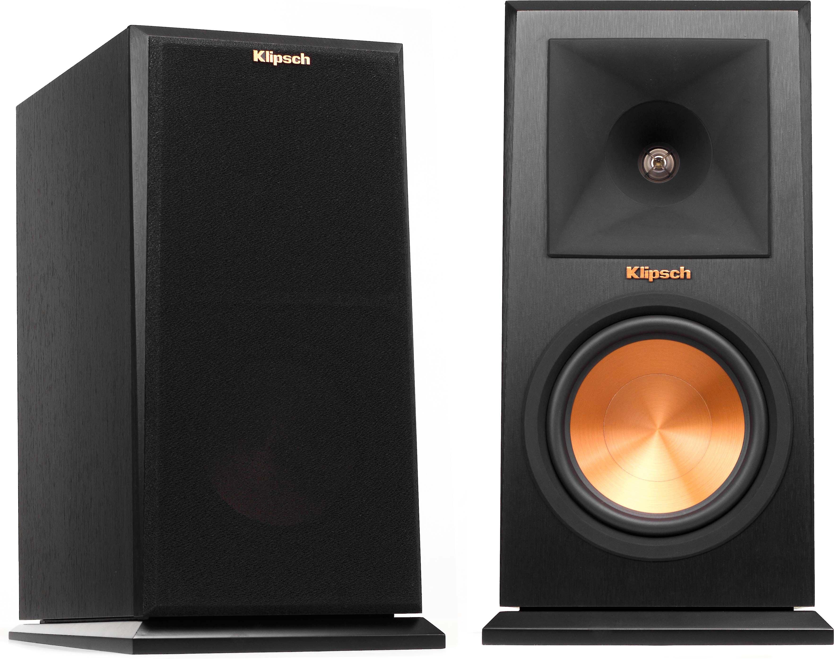 Klipsch Reference Premiere RP-160M (Ebony) Bookshelf speakers at Crutchfield