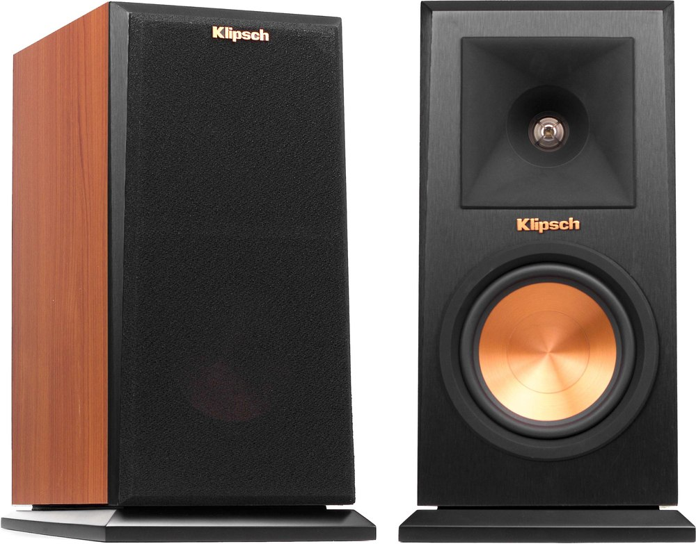Klipsch Reference Premiere RP 150M Cherry Bookshelf Speakers At Crutchfield
