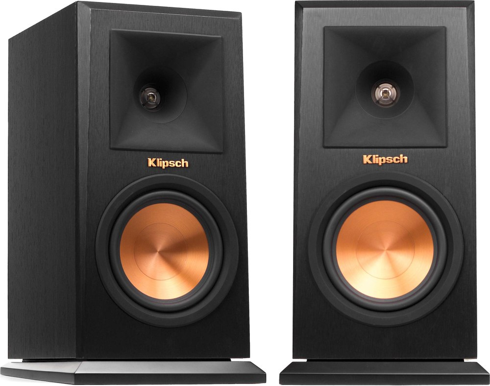 palladium espresso speakers products back p b klipsch bookshelf