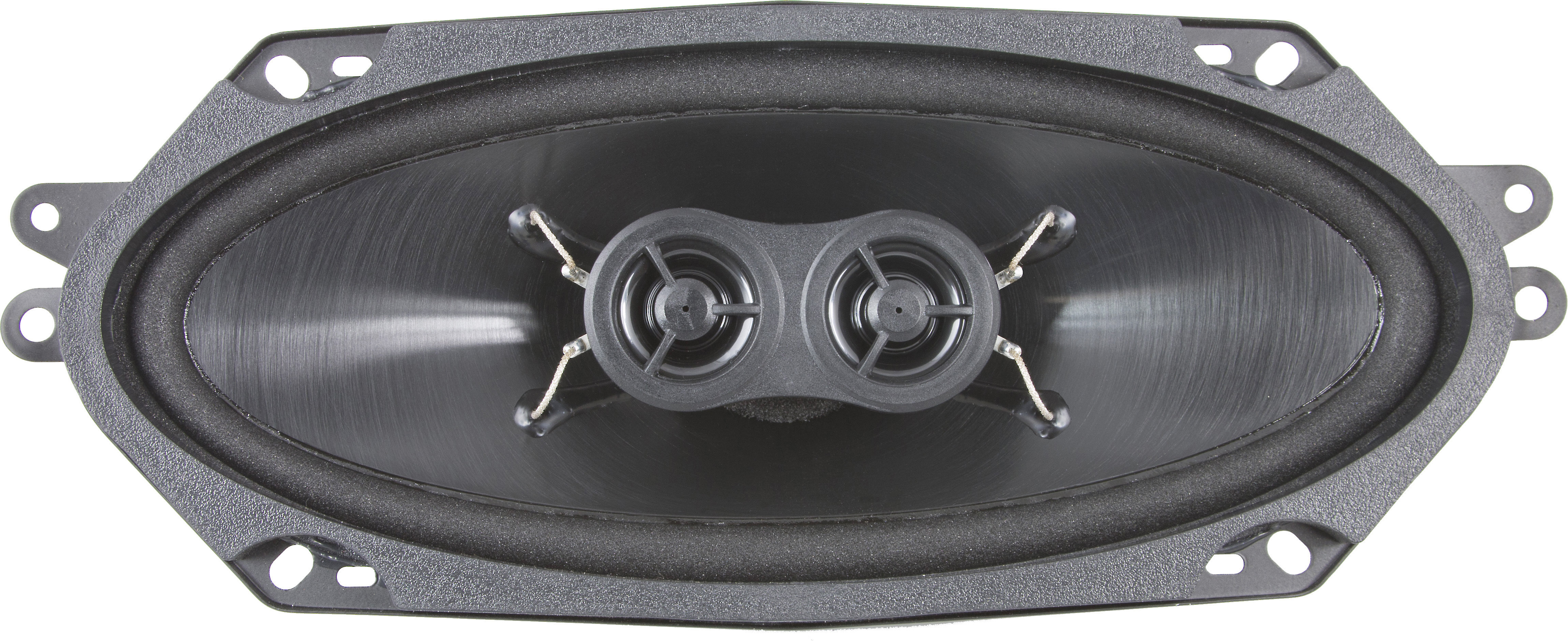 Retro Sound D-412 4x10 Ultra-Thin Stereo Dash Replacement Speaker 4 OHM DVC NEW