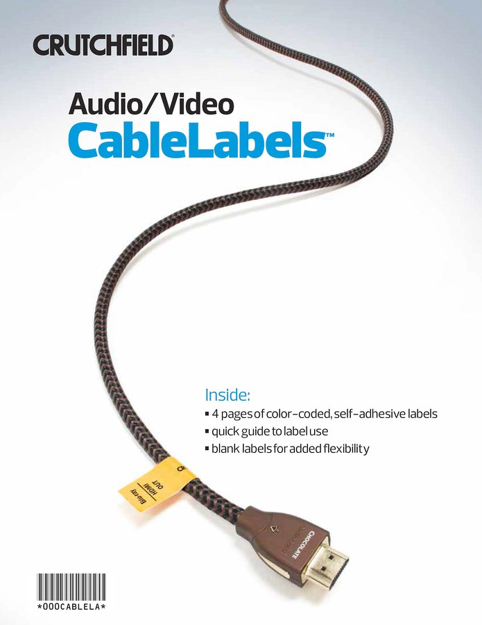 home theater receiver setup guide audio video cablelabels trade