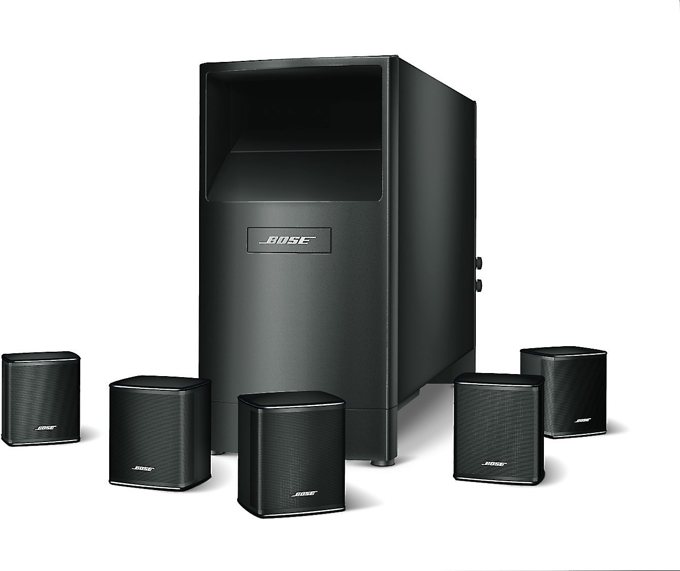 Bose Sound System >> Bose Acoustimass 6 Series V Home Theater Speaker System At Crutchfield