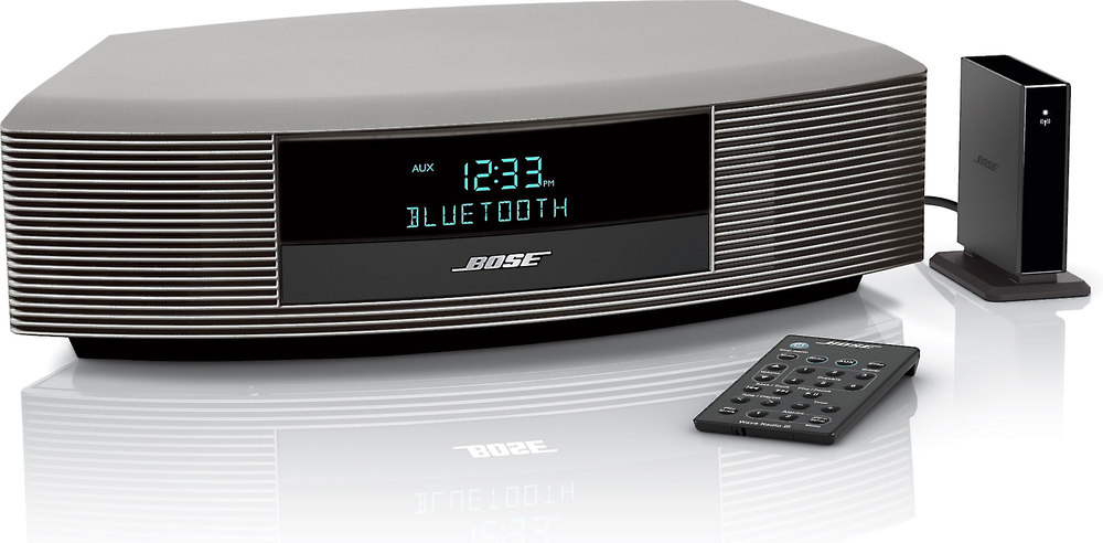 bose wave radio iii with bluetooth music adapter at. Black Bedroom Furniture Sets. Home Design Ideas