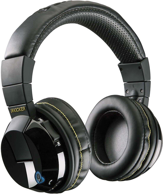Kicker Tabor Hp402bt Over The Ear Wireless Headphones At Headset Bluetooth Jbl X Under Armour Earphone Headphone Handsfree