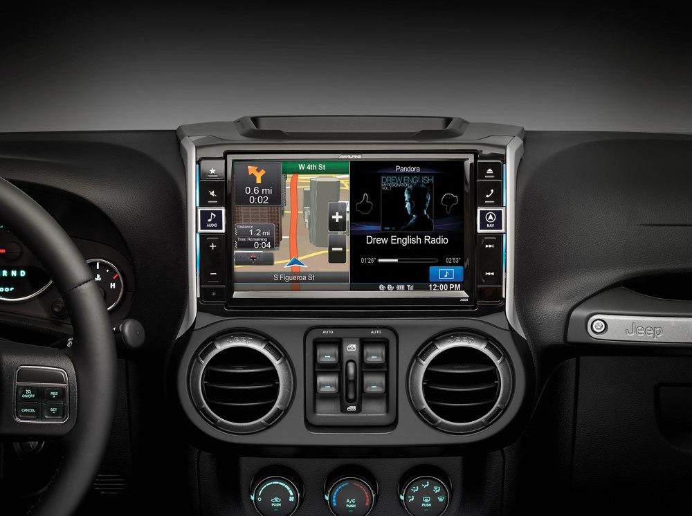 Alpine X009 Wra In Dash Restyle System Custom Fit