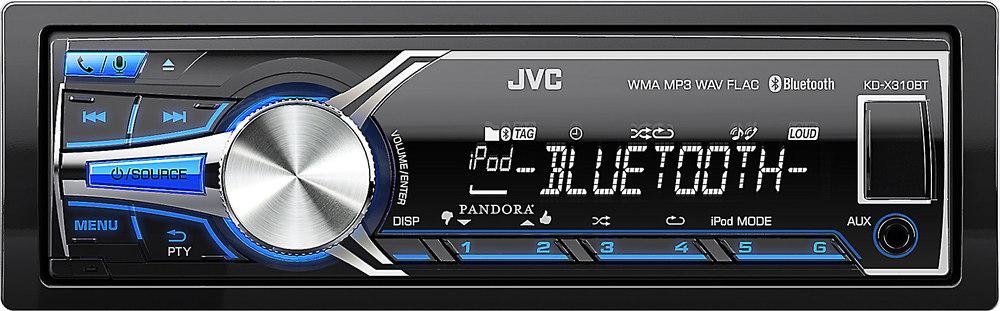 jvc kd x310bt digital media receiver does not play cds at rh crutchfield com JVC BT KD -310 Bluetooth JVC KD R310