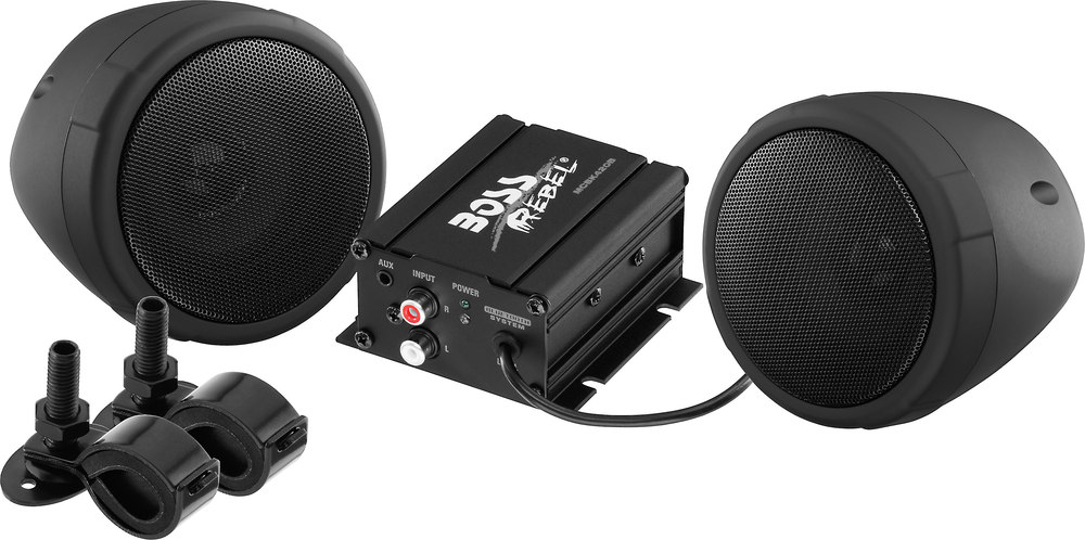 boss mcbk420b black all terrain bluetooth® speaker pods and boss mcbk420b black all terrain bluetooth® speaker pods and amplifier system at crutchfield com