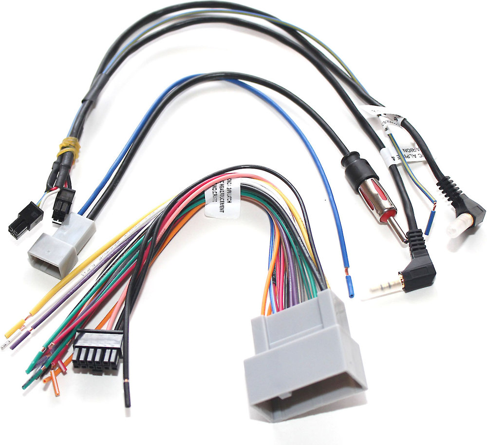 Crux Swrhn 62l Wiring Interface Connect A New Car Stereo And Retain 2008 Honda Pilot Connectors Steering Wheel Controls In Select Up Vehicles At
