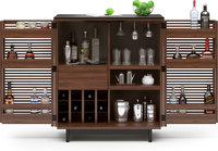 BDI Corridor Bar 5620 Chocolate Stained Walnut