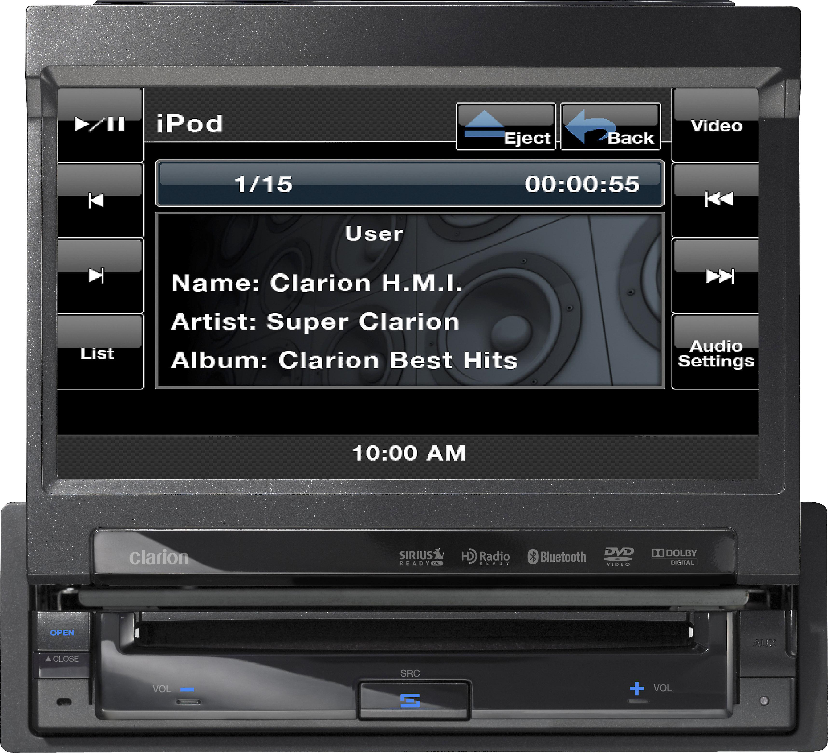 clarion vz401 dvd receiver at crutchfield  crutchfield