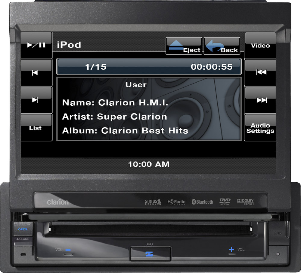 Clarion VZ401 DVD receiver at Crutchfield.com on clarion m309 wiring-diagram, clarion vx400 wiring-diagram, clarion radio wiring diagram, clarion 16 pin wiring diagram,
