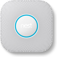 Nest Protect w/ Battery (White) 2nd Gen  Smoke & Carbon M...