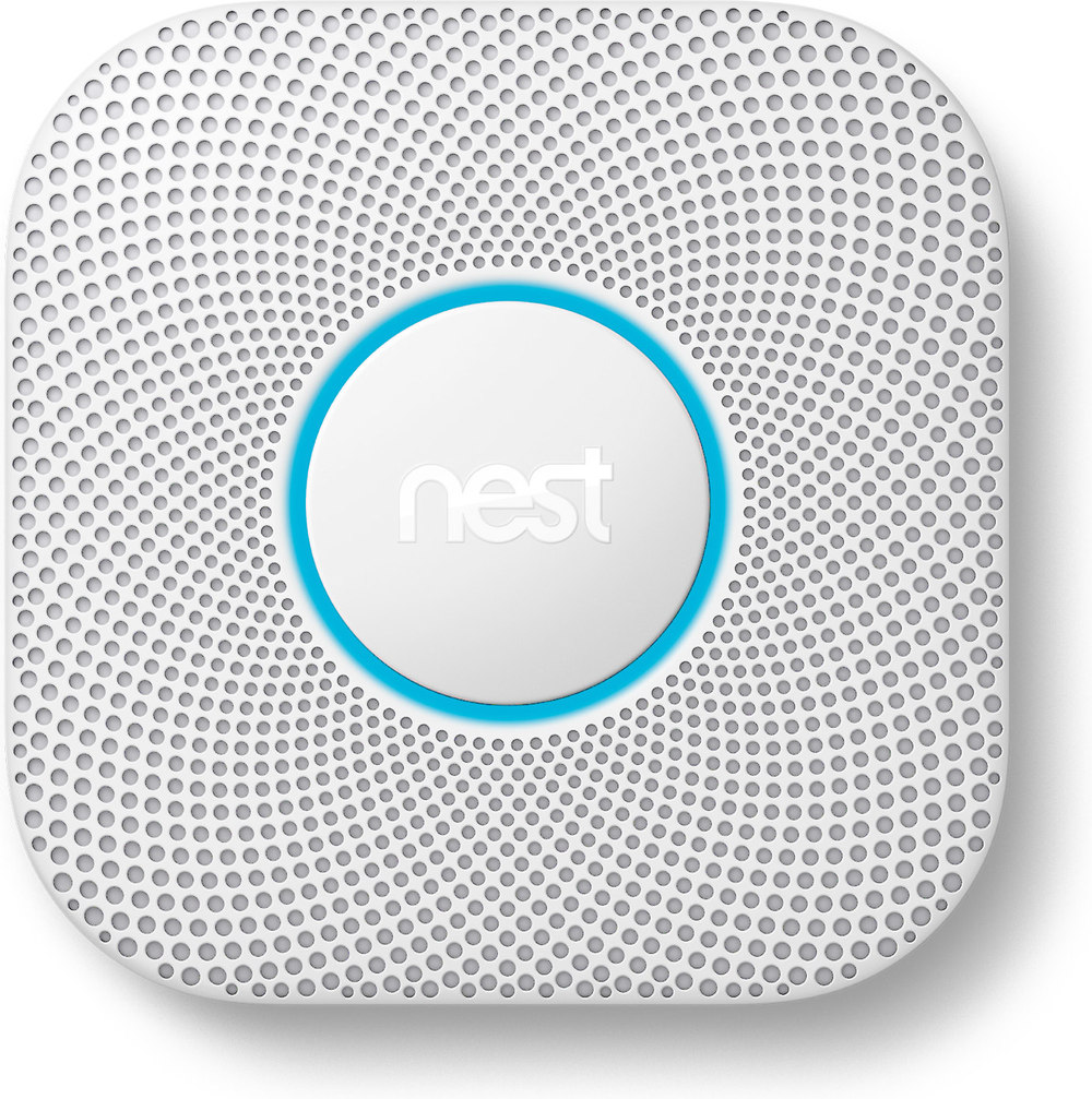 Nest Protect 2nd Generation Wired smoke & carbon monoxide detector ...