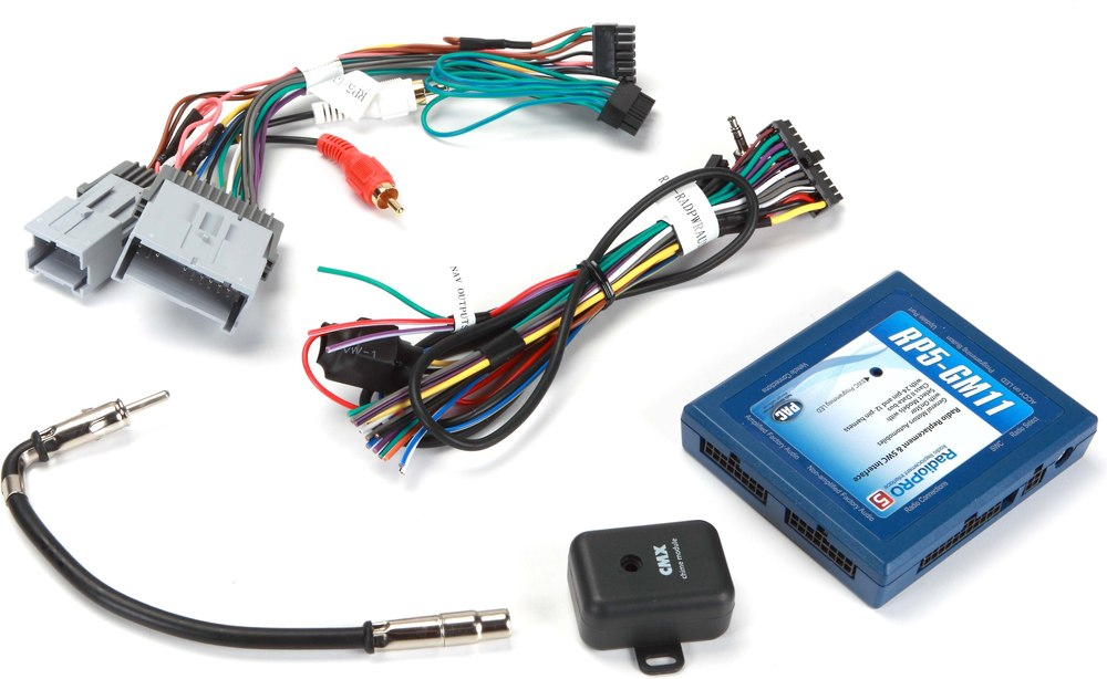 x541RP5GM11 F pac rp5 gm11 wiring interface connect a new car stereo and retain 2015 GMC Yukon XL Denali at edmiracle.co