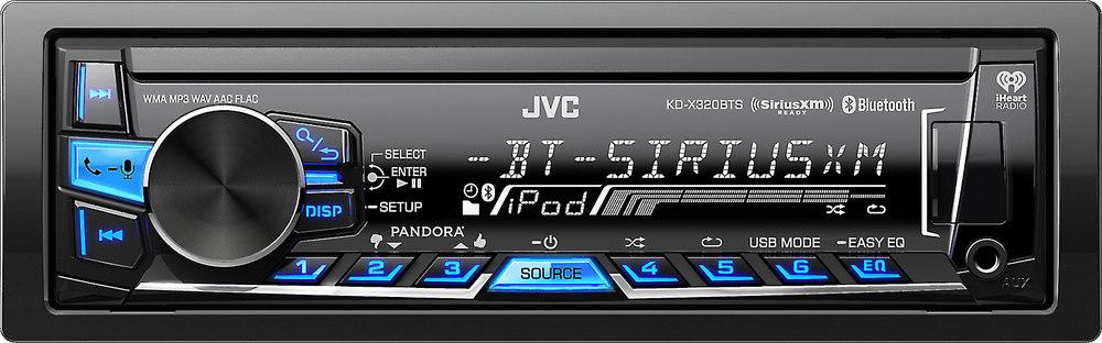 jvc kd x320bts digital media receiver does not play cds at rh crutchfield com JVC KD R320 Wiring Diagram Model JVC Radio Wiring