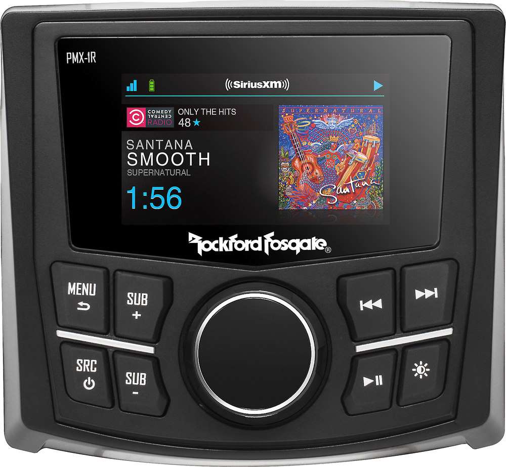 Rockford Fosgate Pmx 1r Wired Marine Remote For Select Pmx