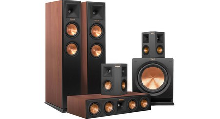 Klipsch RP-250 5.1 Home Theater Speaker System