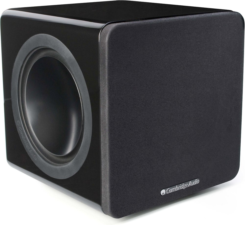 Cambridge Audio Minx X201 Black Ultra Compact Powered Subwoofer At Filter Crossover 11 90 Hz Frequency Circuit Free Picture