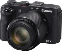 "Canon PowerShot G3X Digital Camera- 20MP, 1"" Sensor,  25X..."