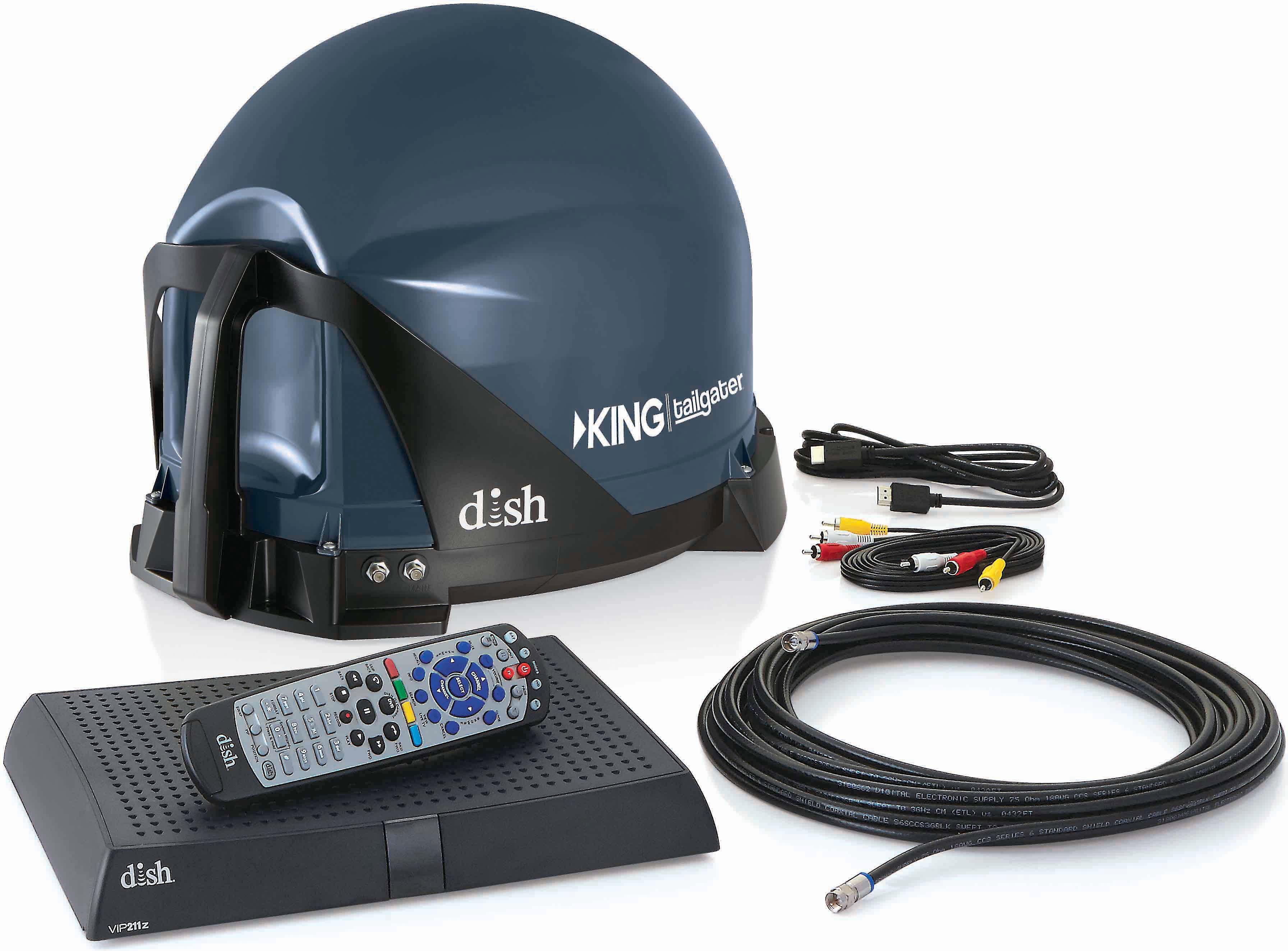 Dish Network VIP 211Z  Satellite Receiver 1 year warr Super Fast Shipping!!!!!!