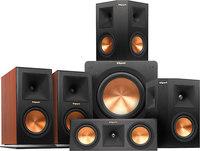 Klipsch RP160M Ebony 5.1 channel home theater speaker system
