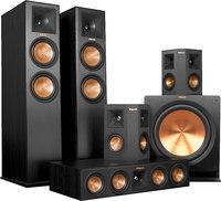 Klipsch RP280F Ebony SYS 5.1 Channel Home Theater Speaker System
