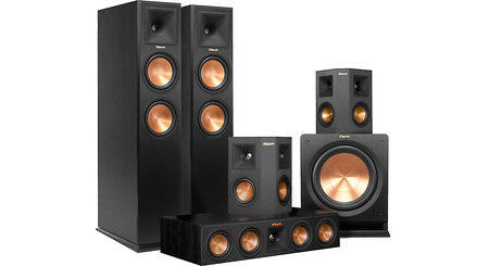 Klipsch RP-260 5.1 Home Theater Speaker System