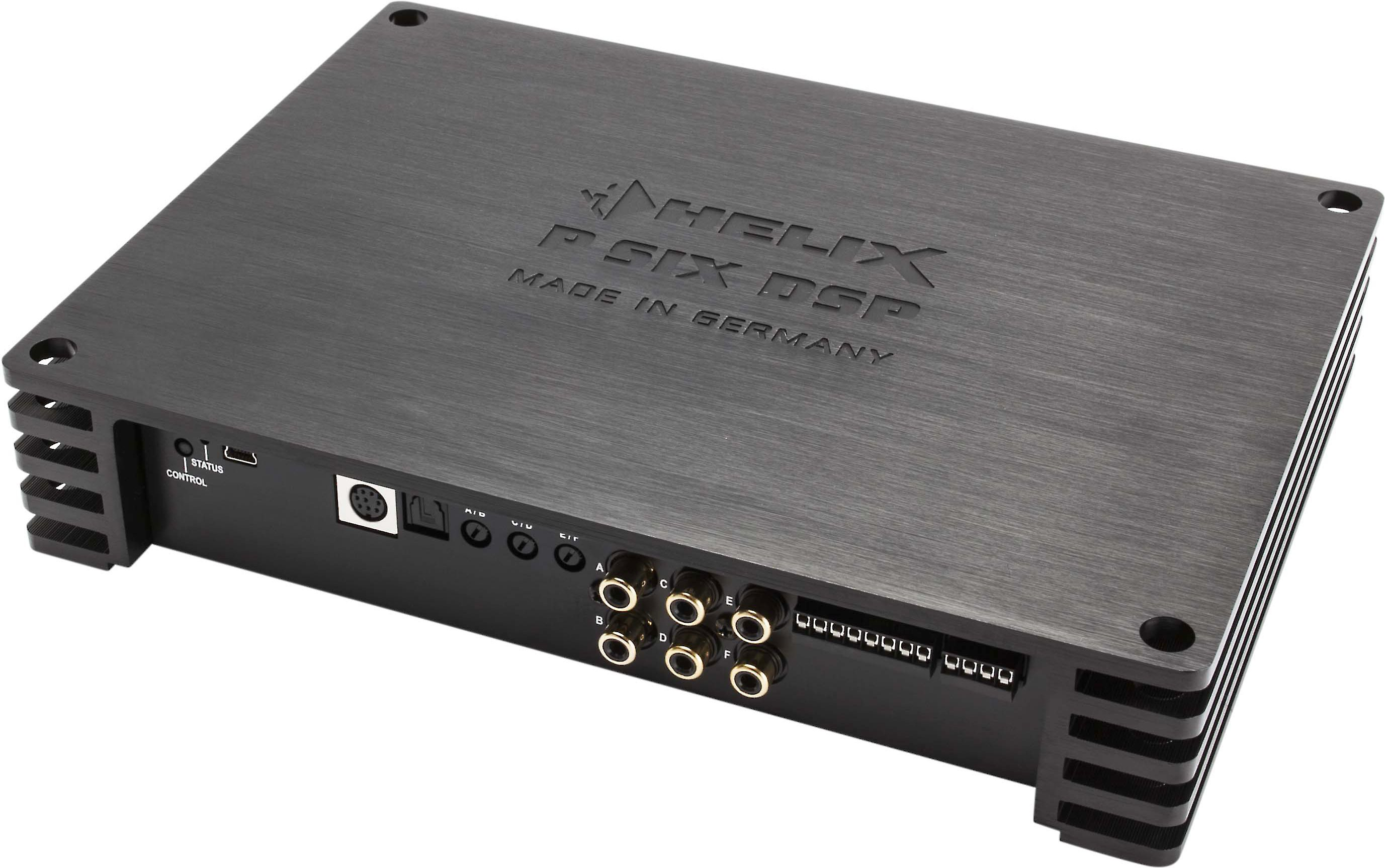 70b6fc54 HELIX P SIX DSP MK2 6-channel car amplifier with digital signal processing  — 120 watts RMS x 6 at Crutchfield.com