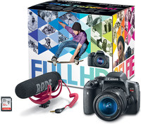 Canon EOS T6i Video Creator Kit w/ 18-55mm, Rode Video Mi...
