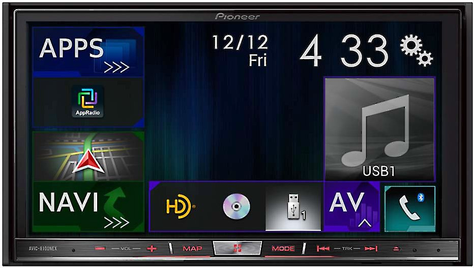 pioneer avic 8100nex navigation receiver at crutchfield com