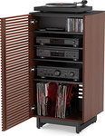 BDI Corridor 8172 Audio Tower in Chocolate Stained  Walnut
