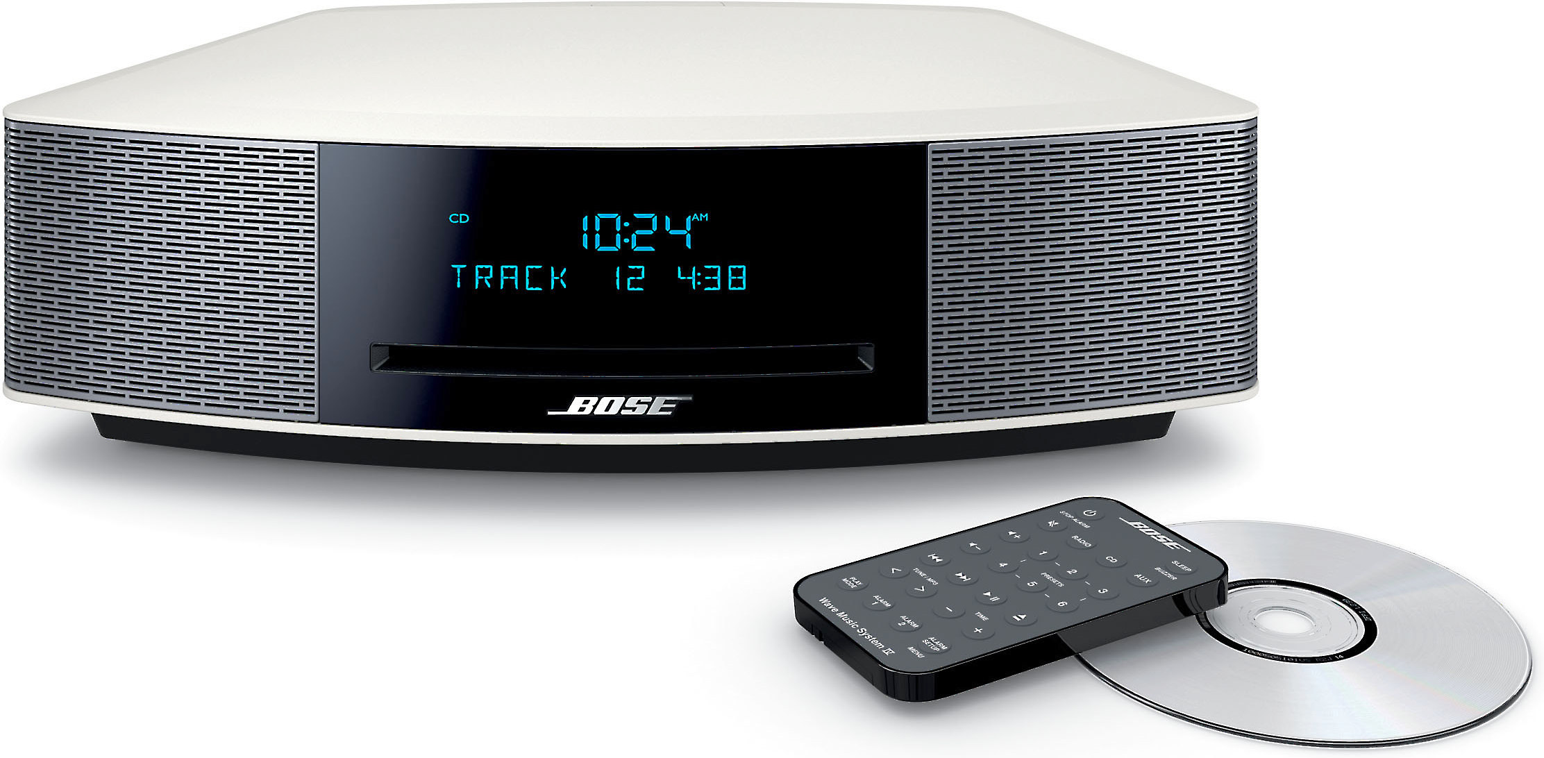 Bose® Wave® music system IV (Platinum Silver)
