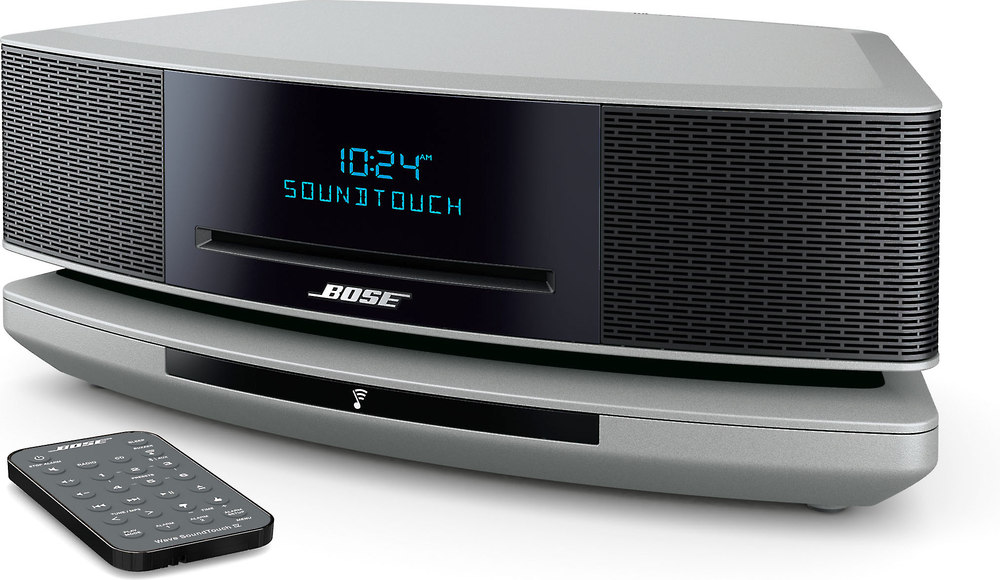 Bose Car Speakers >> Bose® Wave® SoundTouch® music system IV (Platinum Silver) at Crutchfield.com