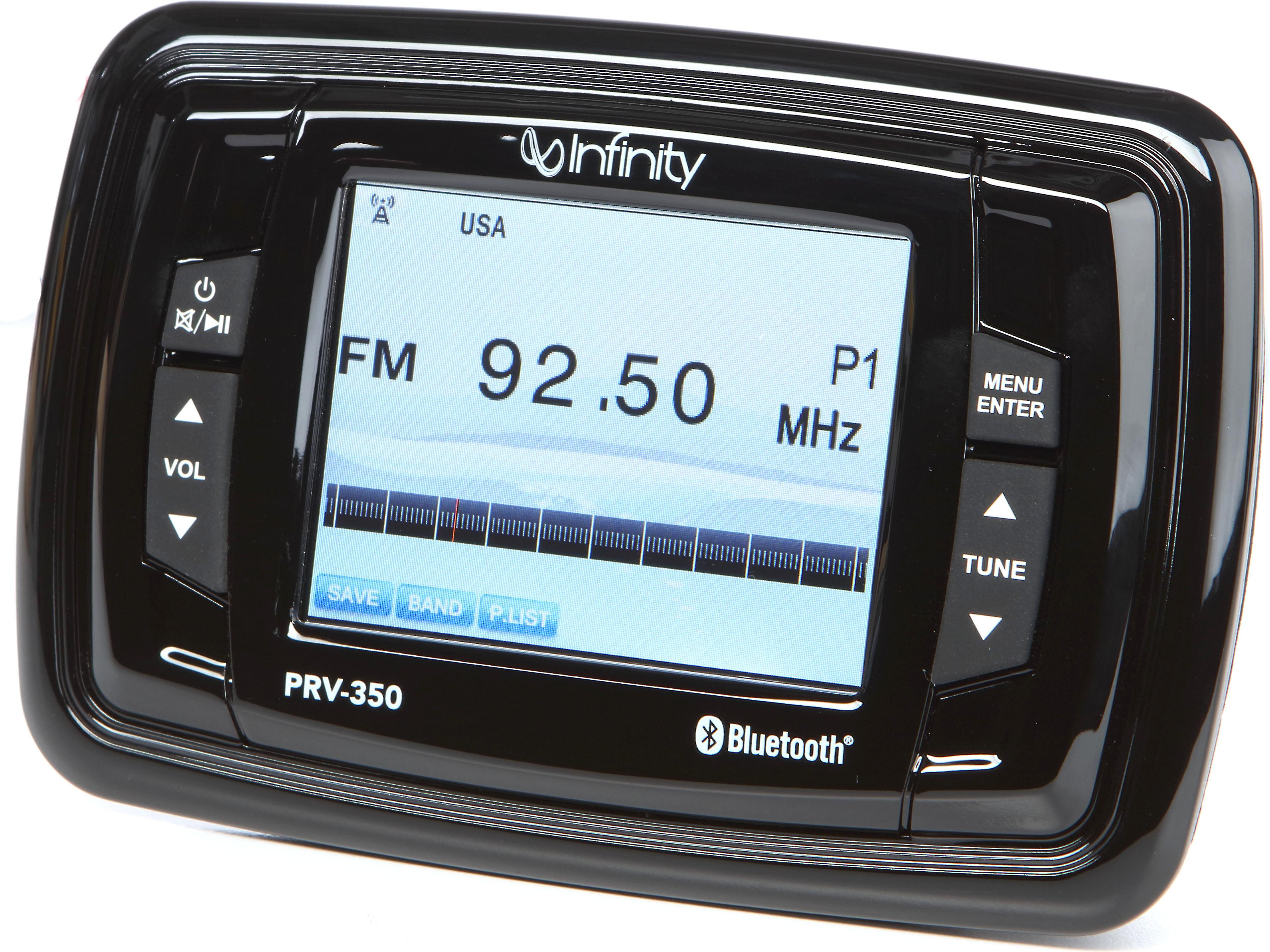 Prospec Boat Digital Stereo Receiver INF-PRV350Infinity 3.5 Inch
