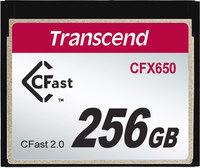 Transcend TS256 GCFX650 CFast Memory Card