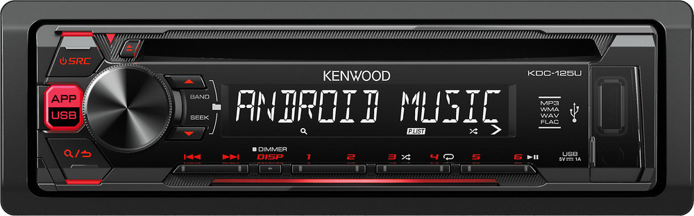 x113KDC125U F kenwood kdc 125u cd receiver at crutchfield com kenwood kdc 155u wiring diagram at edmiracle.co
