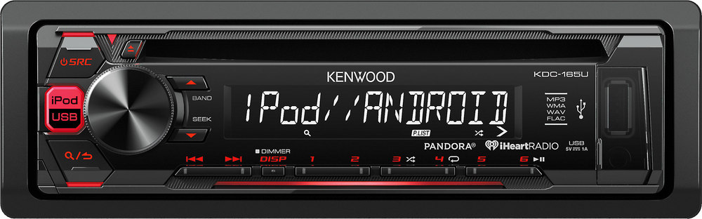 x113KDC165U F kenwood kdc 165u cd receiver at crutchfield com Kenwood Wiring Harness Diagram at creativeand.co
