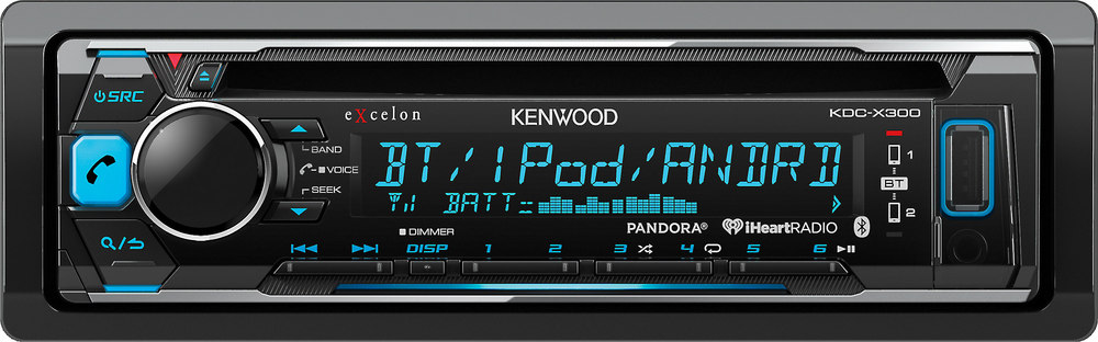 x113KDCX300 F kenwood excelon kdc x300 cd receiver at crutchfield com kenwood kdc x300 wiring diagram at bayanpartner.co