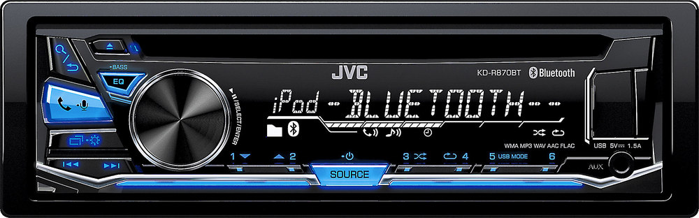 x105KDR870B F jvc kd r870bt cd receiver at crutchfield com Car Stereo Wiring at bakdesigns.co