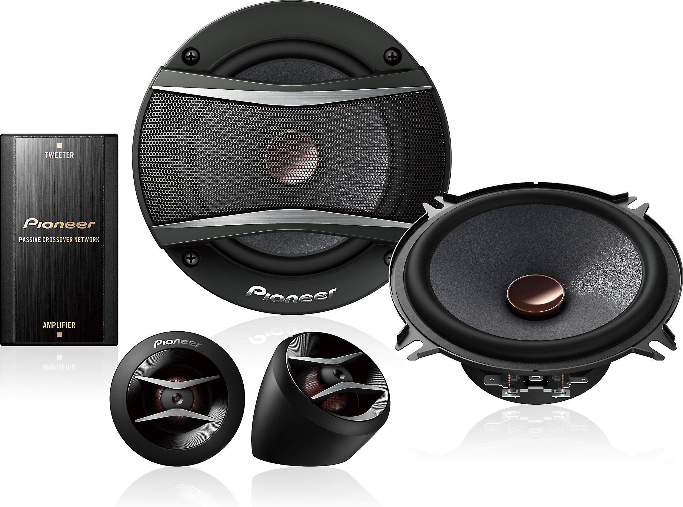 "POLK AUDIO DB5252 300 WATTS 5.25/"" 2-WAY CAR COMPONENT SET SPEAKER SYSTEM 5-1//4/"""