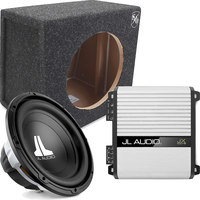 JL AUDIO Bass Package  12W0v3-4 + JX500/1D