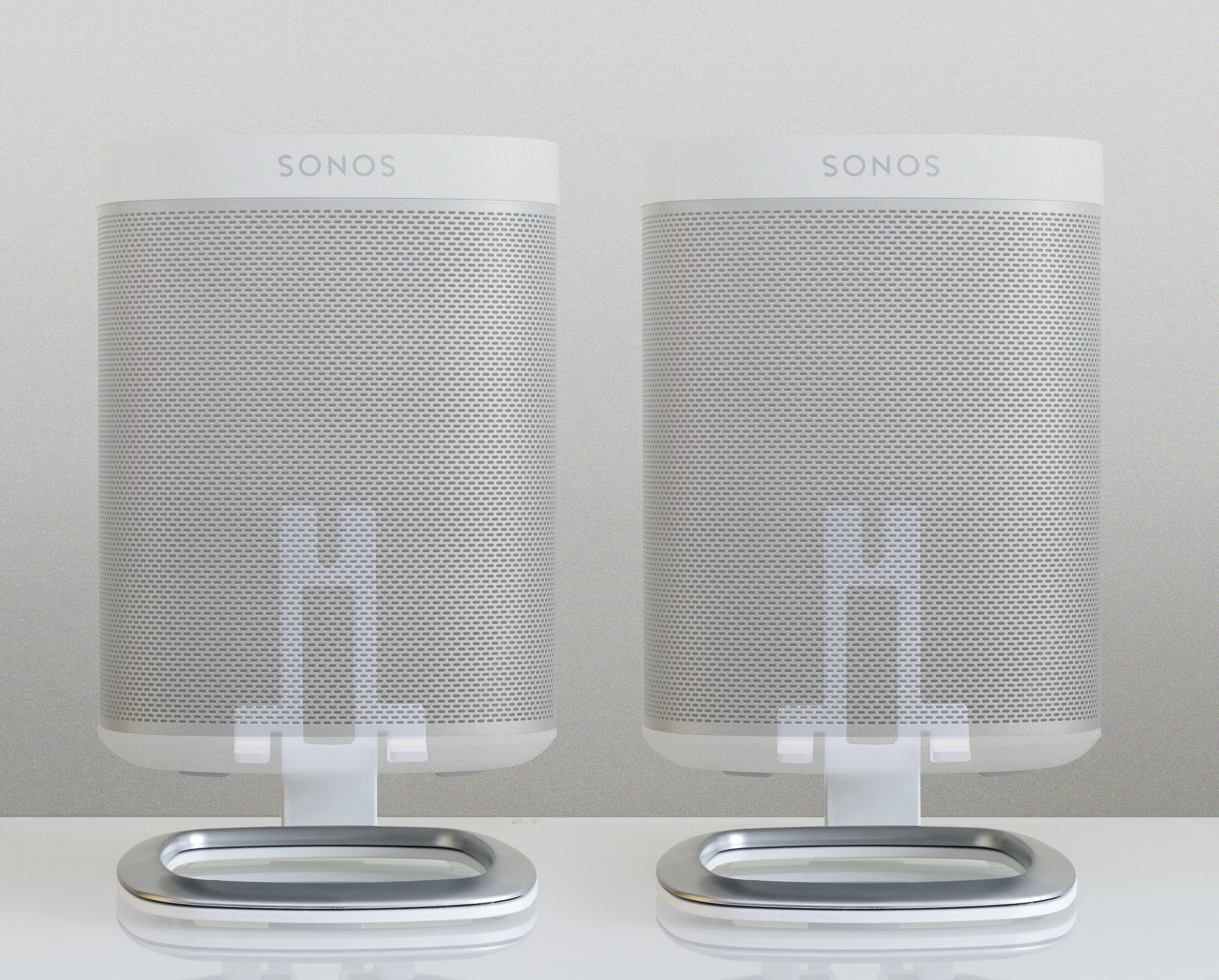 Black Each Flexson Desk Stand for SONOS One and PLAY:1 Wireless Speaker